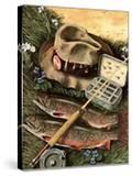 """Fishing Still Life "" April 15  1944"