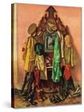 """Loaded Coat Rack""  April 14  1945"