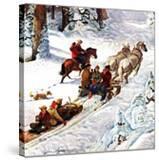 """Winter Sleigh Ride "" December 17  1949"