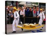 Cheese Market Activity  Alkmaar  North Holland  Netherlands