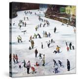 """Fox River Ice-Skating""  January 11  1958"