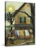 """""""Hanging Clothes Out to Dry """" April 7  1945"""