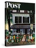 """Inn in Ogunquit "" Saturday Evening Post Cover  August 2  1947"