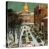 """Park Street  Boston "" January 7  1961"
