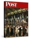 """Republican Convention "" Saturday Evening Post Cover  June 19  1948"
