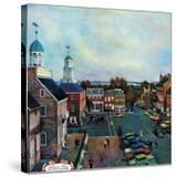 """""""Town Square  New Castle Delaware """" March 17  1962"""