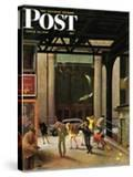 """""""Windy City """" Saturday Evening Post Cover  March 23  1946"""