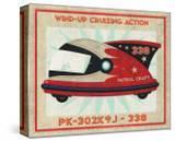 Patrol Craft 338  Box Art Tin Toy
