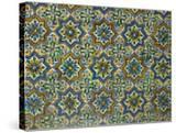Moorish Mosaic Azulejos (ceramic tiles)  Casa de Pilatos Palace  Sevilla  Spain