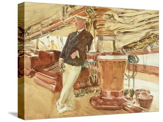 john-singer-sargent-captain-herbert-m-sears-on-deck-of-the-schooner-yacht-constellation-1924