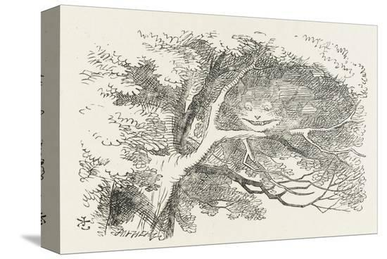 john-tenniel-alice-and-the-cheshire-cat-the-cheshire-cat-fades-away