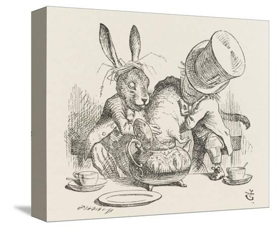 john-tenniel-the-hatter-s-mad-tea-party-the-hatter-and-the-hare-put-the-dormouse-in-the-tea-pot