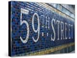 59Th Street Subway Station Sign
