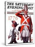 """""""Fourth of July  1776 """" Saturday Evening Post Cover  June 30  1923"""