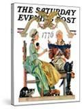 """""""Truce """" Saturday Evening Post Cover  July 4  1931"""