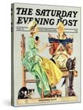 """""""Truce """" Saturday Evening Post Cover  October 1  1975"""