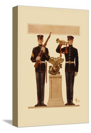 joseph-christian-leyendecker-two-marines