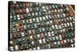 Aerial View of Wrecked Cars in Charlotte  North Carolina