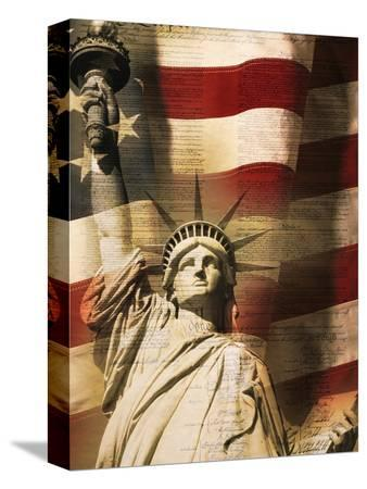 joseph-sohm-statue-of-liberty-and-american-flag