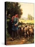 The Young Shepherdess  C1900