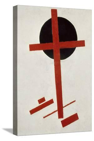 kasimir-malevich-red-cross-on-black-circle-after-1914