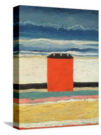 kasimir-malevich-red-house-1932