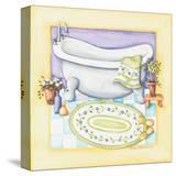 Yellow Bathroom Tub