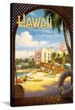 Hawaii  Land of Surf and Sunshine