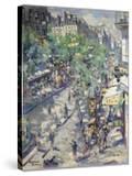 The Boulevard De Sébastopol in Paris  1923