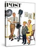 """At the Photographer"" Saturday Evening Post Cover  September 26  1959"