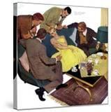 "Marriagable Age - Saturday Evening Post ""Men at the Top""  December 13  1958 pg28"
