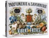 Parfumerie and Savonnerie - Vibert Freres Poster