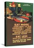 """""""Eat More Corn  Oats and Rye - To Save For the Army and Our Allies """" 1918"""