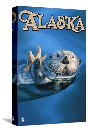 lantern-press-alaska-sea-otter