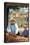 Amish Country - Barn Raising