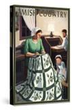 Amish Country - Quilting Scene