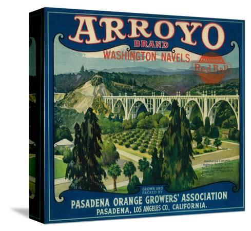 lantern-press-arroyo-orange-label-pasadena-ca