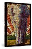 Asian Elephant - Paper Mosaic