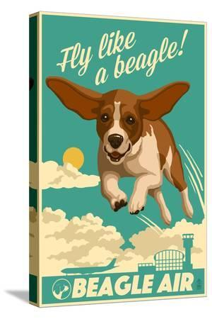 lantern-press-beagle-retro-aviation-ad