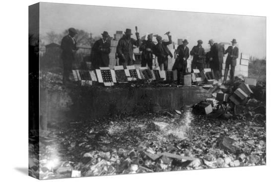 lantern-press-beer-bottles-smashed-during-prohibition-photograph-washington-dc