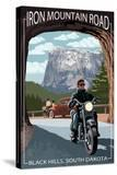 Black Hills  South Dakota - Iron Mountain Road Biker Scene