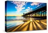California - Seal Beach Pier at Sunset