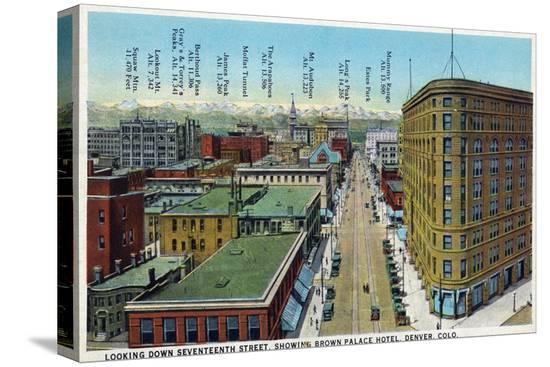 lantern-press-denver-colorado-view-down-17th-street-showing-brown-palace-hotel