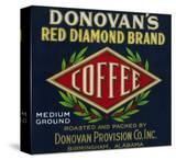 Donovan's Coffee Label - Birmingham  AL