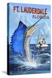 Ft Lauderdale  Florida - Sailfish Scene