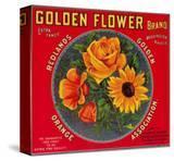 Golden Flower Orange Label - Redlands  CA