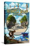 Hermosa Beach  California - Montage Scenes