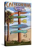 Huntington Beach  California - Destination Sign