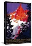 La Chaine De Mont-Blanc Vintage Poster - Europe