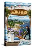 Laguna Beach  California - Montage Scenes